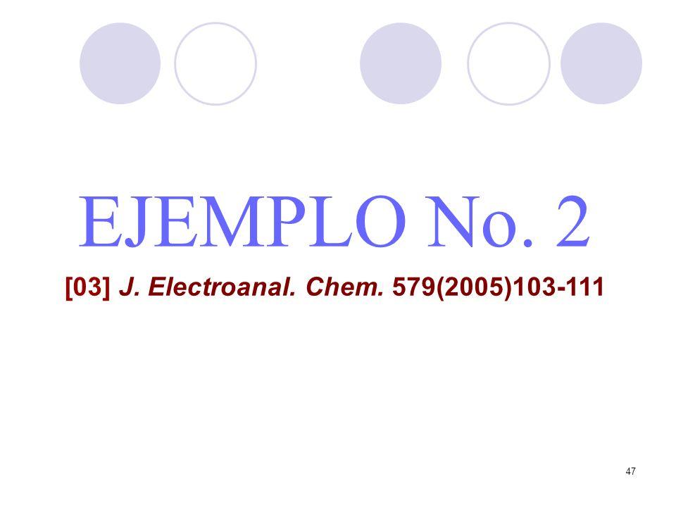 [03] J. Electroanal. Chem. 579(2005)103-111